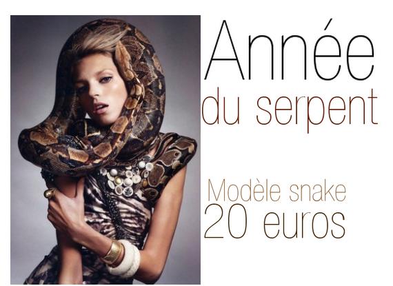 annee du serpent promo